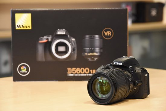 Nikon D5600 DSLR Fotoaparatas -24.2 MP-Full HD 1080p -