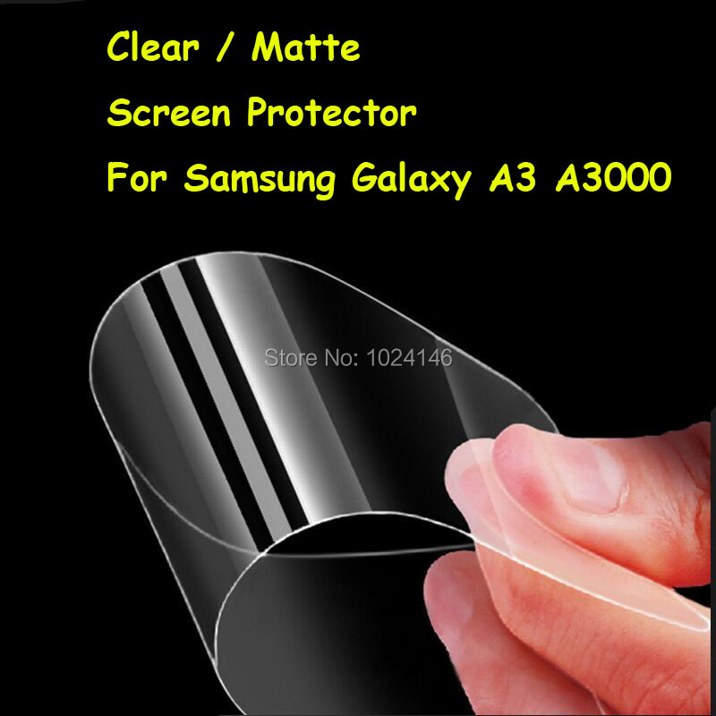 HD Išvalyti / Anti-Glare Matte Screen Protector For Samsung Galaxy A3 (M.) A300 4.5