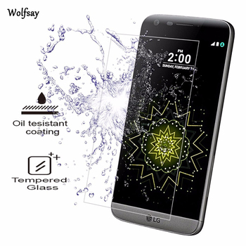 2vnt Screen Protector sFor Stiklo LG G5 Grūdintas Stiklas LG G5 H850 VS987 H820 LS992 H830 H860N H840 H845 Telefono Kino Wolfsay